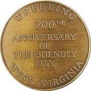 Token - City of Wheeling – reverse