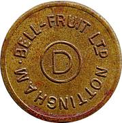 Token - Bell-Fruit Ltd (Nottingham; D) – obverse