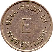 Token - Bell-Fruit Ltd (Nottingham; E) – obverse
