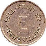 Token - Bell-Fruit Ltd (Nottingham; E) – reverse