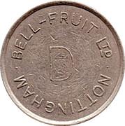 Token - Bell-Fruit Ltd (Nottingham; D) – reverse