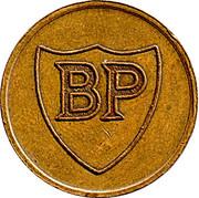 Token - BP (Penhill Filling Station) – obverse