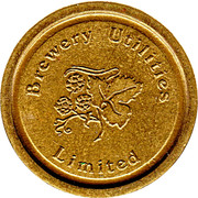 Token - Eurocoin (Brewery Utilities Limited) – obverse