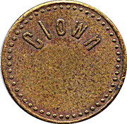 Token - Clown – obverse