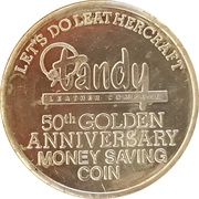 Token - Tandy Leather Company – obverse