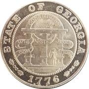 Token - State of Georgia – obverse