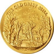 Token - The Old Grist Mill – obverse
