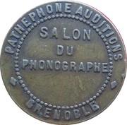 Phonograph Token - Salon du Phonographe (Grenoble) – obverse