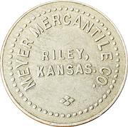 50 Cents - Meyer Mercantile Co. – obverse