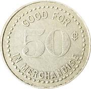 50 Cents - Meyer Mercantile Co. – reverse