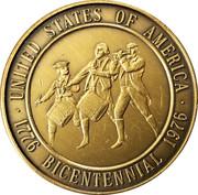 Token - United States of America Bicentennial – obverse