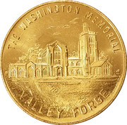 Token - Valley Forge – reverse