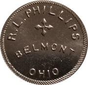 10 Cents - R. L. Phillips – obverse