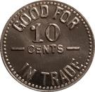 10 Cents - R. L. Phillips – reverse
