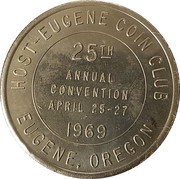 Token - 25th Annual Convention PNNA – reverse