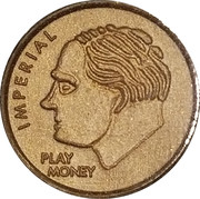 Imperial Dime (play money) – obverse