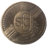 Parking Token - Sint Franciscus Gasthuis – obverse