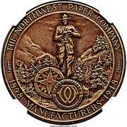 So-called-dollar - Northwest Paper Co. 50th Anniversary – obverse