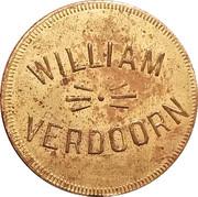 25 Cents - William Verdoorn – obverse