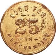 25 Cents - William Verdoorn – reverse