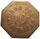10 Cents - A. Bengston – reverse
