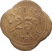 25 Cents - A. Bengston – reverse