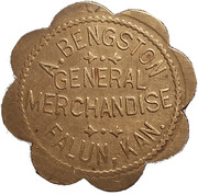 50 Cents - A. Bengston – obverse