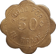 50 Cents - A. Bengston – reverse