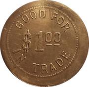 1 Dollar - A. Bengston – reverse