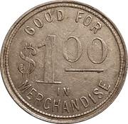 1 Dollar - C. Blocker – reverse