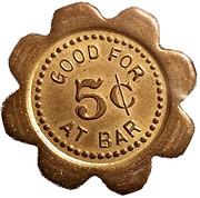 5 Cents - J. F. Bleyenberg – reverse