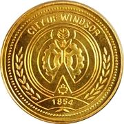 Token - The Royal Visit (Windsor) – reverse