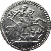 New Year Token - George V – reverse