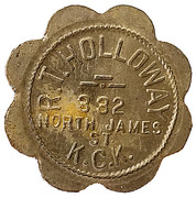 5 Cents - R.T. Holloway – obverse