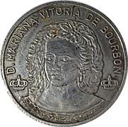 Token - D. José I and D. Mariana Vitória de Bourbon – reverse