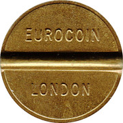 Security Token - Eurocoin London (one groove) – obverse