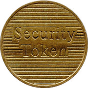 Security Token - Eurocoin London (one groove) – reverse