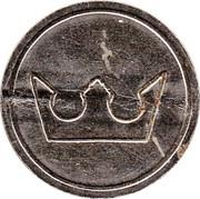 Token - Eurocoin London (Crown) – reverse