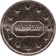 Token - Eurocoin London (Fairplay) – reverse