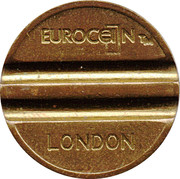 Token - Eurocoin London – obverse