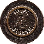 Token - Eurocoin (Peter Simper) – obverse