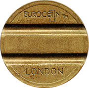Token - Eurocoin London (2 Grooves) – obverse