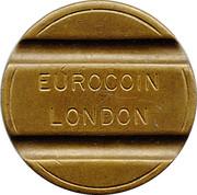 Token - Eurocoin London (Maggi Coniature) – reverse