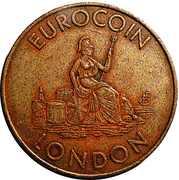 Token - Eurocoin London (Whittaker Bros. Group) – obverse