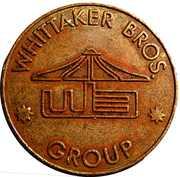 Token - Eurocoin London (Whittaker Bros. Group) – reverse