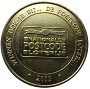 Commercial Token - Nationale Postcode Loterij (48,9 million Euro) – obverse