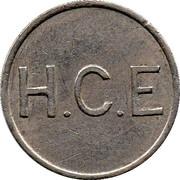Token - H.C.E – obverse