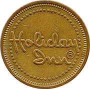 Token - Holiday Inn – obverse