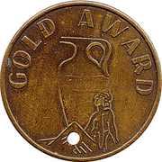 Token - Gold award – obverse