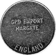 Token - Eurocoin London (GPD Export Margate England) – reverse